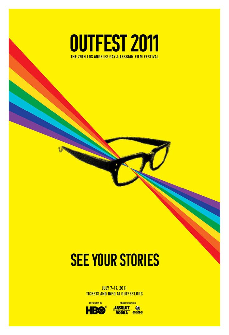 Poster design los angeles - Outfest 2011 The 29th Los Angeles Gay Lesbian Film Festival Www Outfest