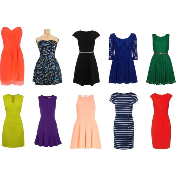sukienki wiosna 2 by innooka on Polyvore featuring moda, Diane Von Furstenberg, Reiss, Yumi, Jane Norman, Oasis, Dorothy Perkins and River Island
