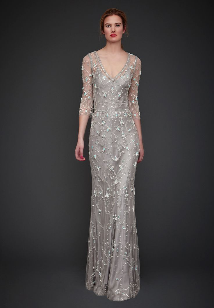 31 best ~ Gray Dresses ~ images on Pinterest | Gray dress, Grey gown ...