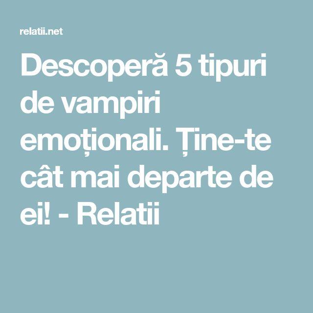 Descoperă 5 tipuri de vampiri emoționali. Ţine-te cât mai departe de ei! - Relatii