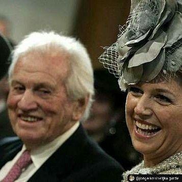 Jorge Zorreguieta, father of Queen Maxima, is seen at the