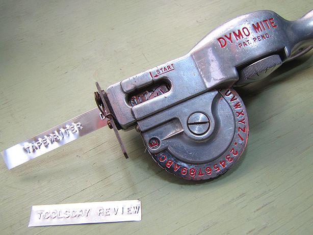 Dymo Metal Embossing Tapewriter