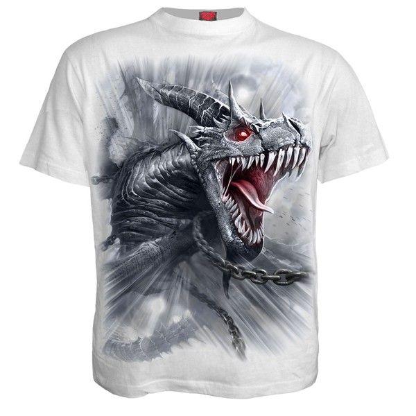 Camiseta Dragón manga corta SPIRAL