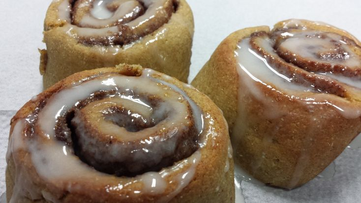 Gluten free just got better. Valley Flaxflour Cinnamon Rolls are here at last!