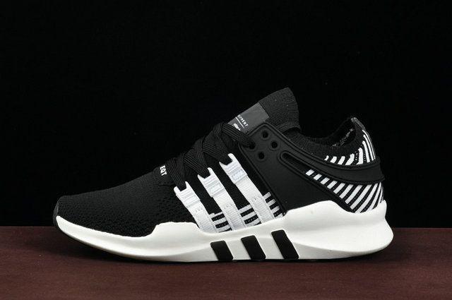 size 40 42f46 793a6 Unisex Adidas EQT Support ADV Primeknit Ba8329 Negras Blancas Zapatillas  Factory Authentic Shoe