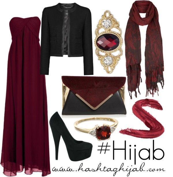 Hijab Fashion 2016/2017: Hashtag Hijab Outfit #74  Hijab Fashion 2016/2017: Sélection de looks tendances spécial voilées Look Descreption Hashtag Hijab Outfit #74