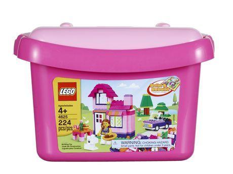 LEGO ® Bricks & More - Pink Brick Box (4625) | Walmart.ca