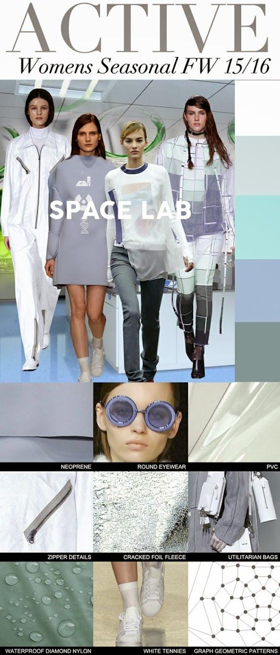Trends // Trend Council - Women'S F/W 2015-16 . Space Lab