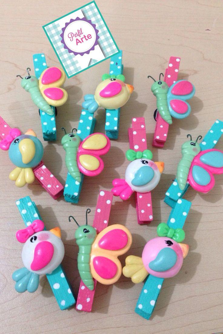 Pinzas decoradas                                                                                                                            Más