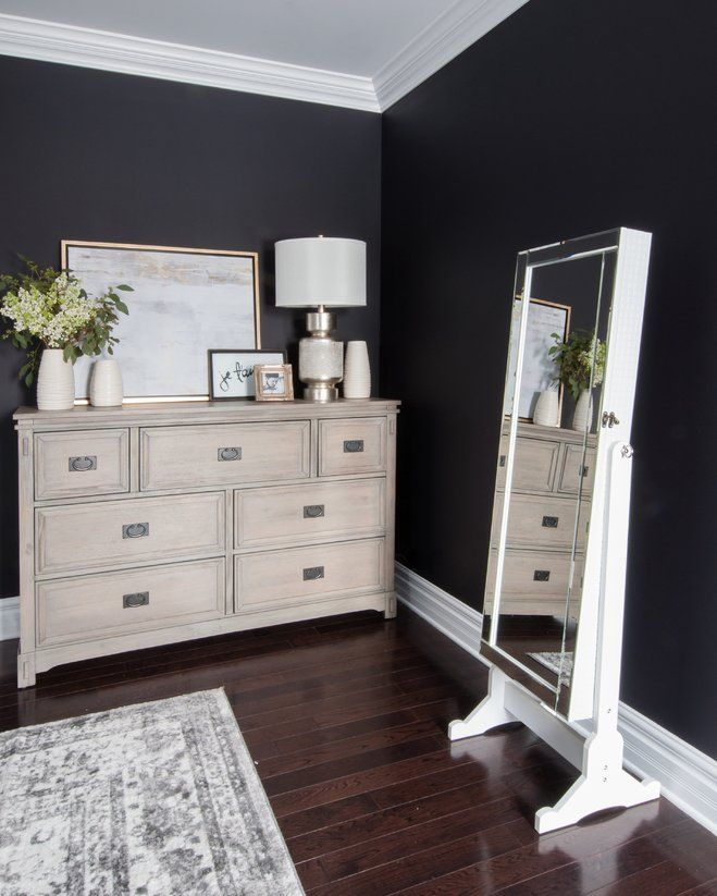 Angela Price's Dark and Dreamy Bedroom Makeover | Wayfair