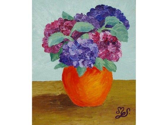 peintures-hortensias-tableau-peinture-acryli-1782990-hortensias-cff50 ...