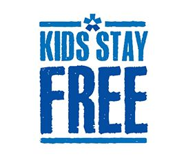 In June and September, up to 2 kids (aged 15 and under) can stay free of charge when accompanied by two sharing adults.