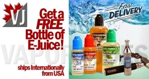 FREE EJUICE! – Get a FREE Bottle of E-Juice – Your Choice! (from USA)