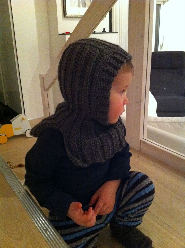 I have published my first pattern! It is a crocheted hat - a balaclava (finlandshette på norsk) that I designed last winter. Check it out...