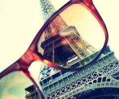 I see: Rose, Tours Eiffel, Oneday, Paris Eiffel Towers, Color Glasses, Photo Ideas, Paris Photography, Perspective, Eye