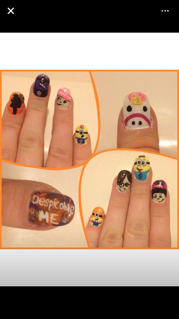 121 best Nails: Minions images on Pinterest | Minion stuff, Minions ...