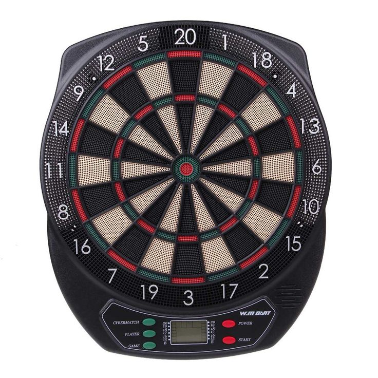 18 inch professional electronic dart board set with 6pcs darts soft tip dartboard for indoor game English voice Scorer