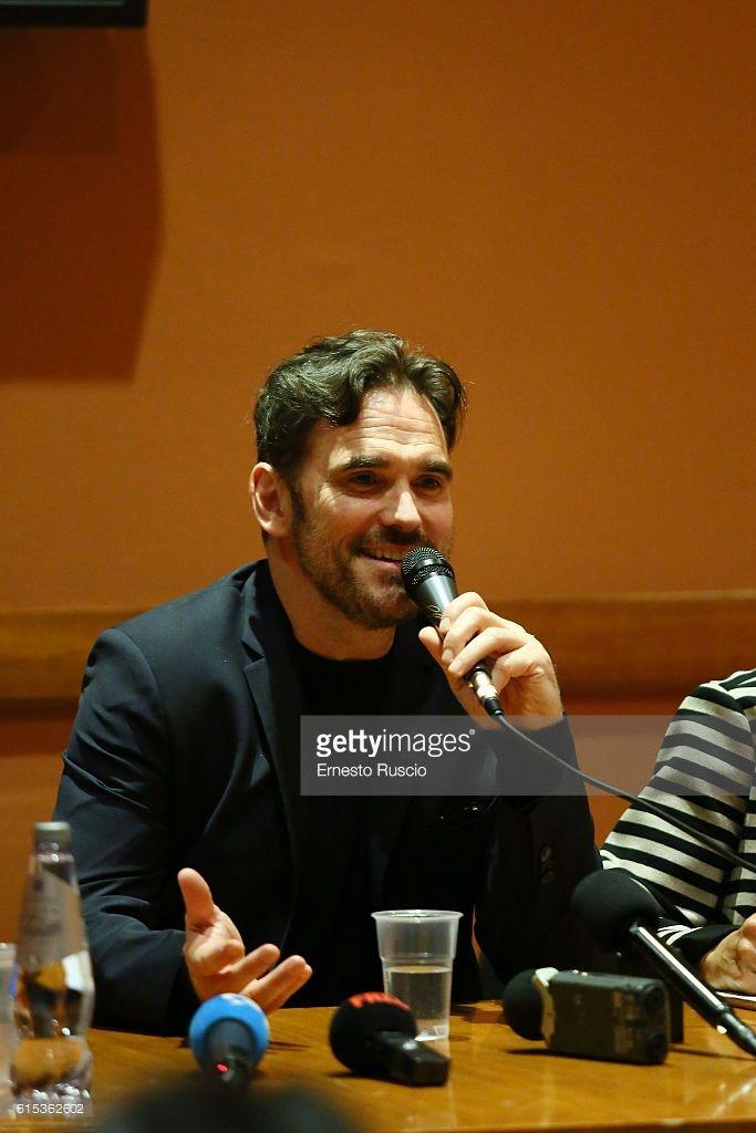 Matt Dillon attends a press conference during the 11th Rome Film Festival at Auditorium Parco Della Musica on October 18, 2016 in Rome, Italy.