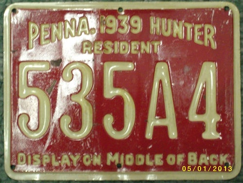 8 best vintage fishing hunting decor images on pinterest for Pa lifetime fishing license
