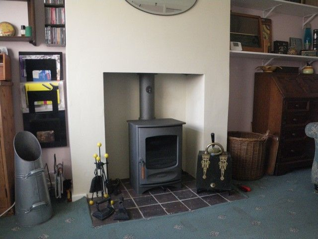 Wood Burning Stove Installed