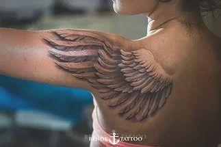 Крыло ангела.