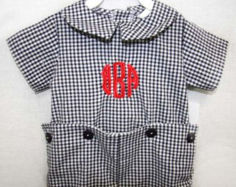 292041 -  Baby Boy Christmas Outfit - Baby Boy Clothes - Christmas Jon Jon - Toddler Christmas Outfit - Toddler Boy Christmas Outfit