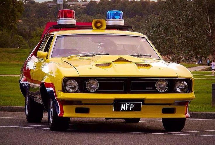 Mad Max Yellow Interceptor