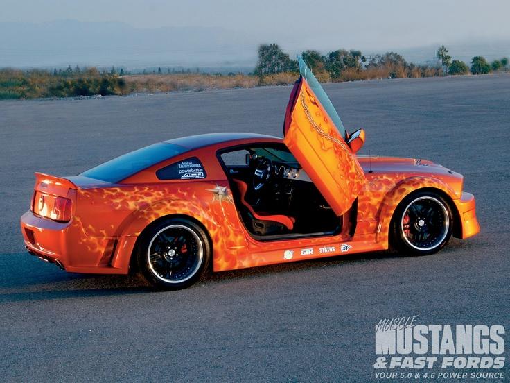 U002705 Mustang GT Lambo Doors!