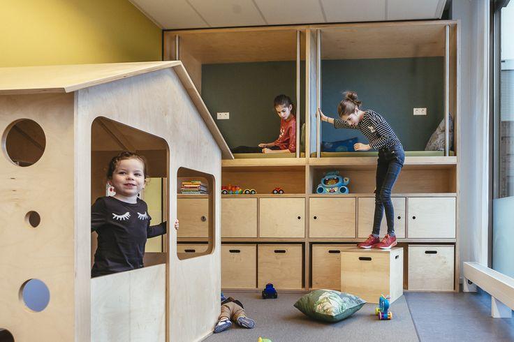 Droomplek Maasstad Ziekenhuis Rotterdam.  Interieurontwerp: Esther Canisius