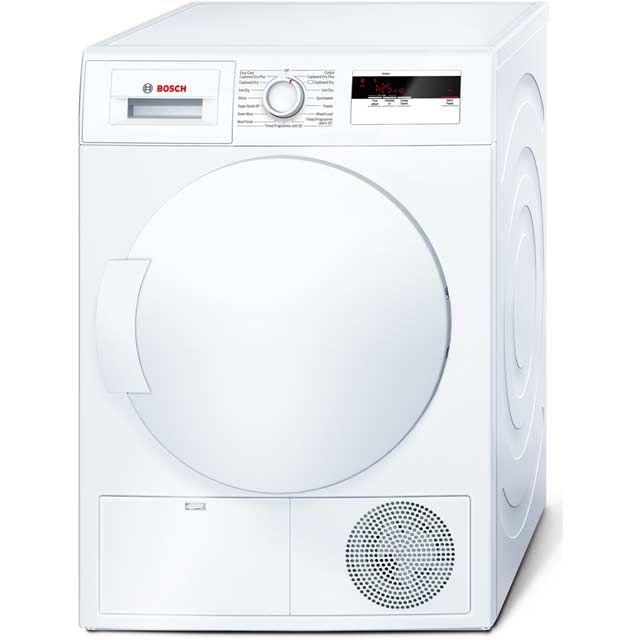 Bosch Condenser Tumble Dryer | WTE84106GB | ao.com