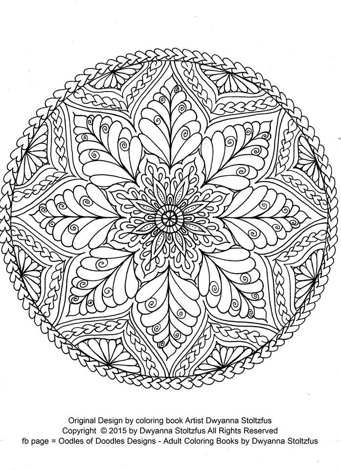 mandala coloring pages as therapy - photo#12