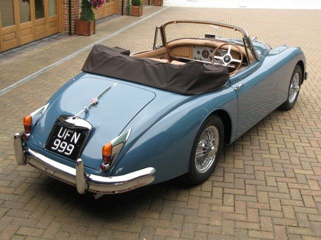 Jaguar XK 150 Drop Head Coupe 1960
