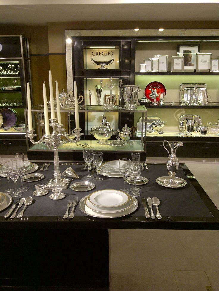 Art de la Table #greggio #harrods #luxury #silver