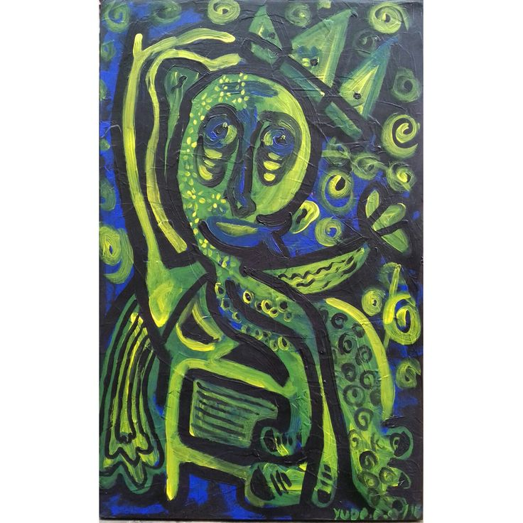 """kursi panas"" 2016. 80x50cm. acrylic on canvas"