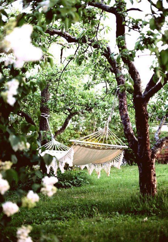 Romantic Garden Hammock