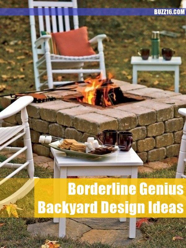 65 Borderline Genius Backyard Design Ideas   http://buzz16.com/borderline-genius-backyard-design-ideas/