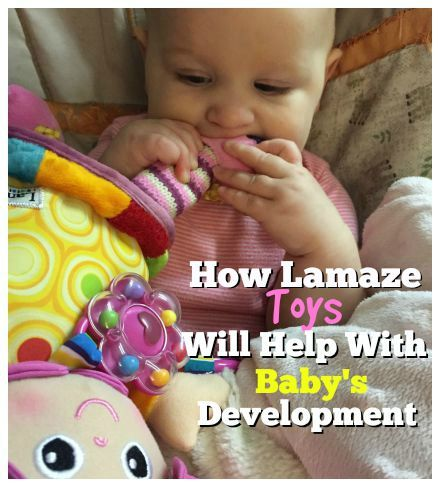 How Lamaze Toys Will Help With Baby's Development!