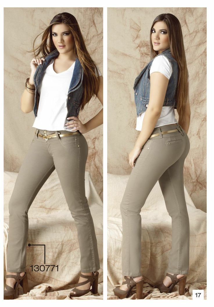 pantalon-de-drill-bota-tubo-color-cafe-claro - Sexy, yet Casual #Fashion #sexy #woman #womens #fashion #neutral #casual #female #females #girl #girls #hot  #hotlooks #great #style #styles #hair #clothing  www.ushuaiajean.com.co