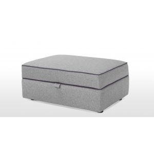 Wolseley Ottoman Storage in wolf grey | made.com
