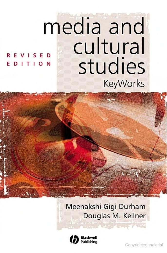 Durham, M. G., & Kellner, D. M. (2009). Media and Cultural Studies. John Wiley & Sons.