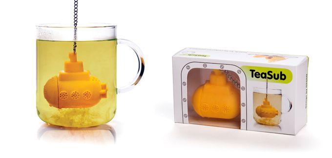 O infusor de chá em formato de submarino amarelo criado pelo designer Ototo une beleza, funcionalidade e diversão, mistura capaz de agradar todos os perfis de públicos – beatlemaníacos ou não…