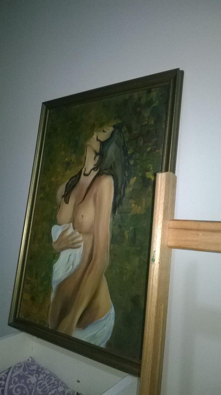 #nü #eski bir çalışmam #yağlıboya #paintoil ,#tablo