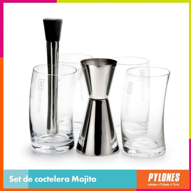Set de coctelera Mojito #SemanaSanta #Santo #Vacaciones  @pylonesco