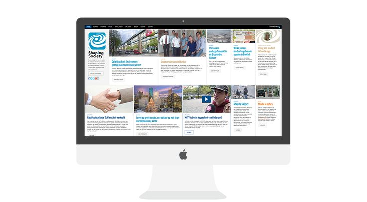 Studenten werven: responsive webdesign voor NHTV Urban Development, Logistics and Mobility. Shaping society.