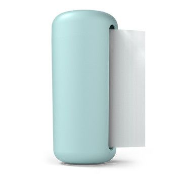 Paper Towel Holder Blue, $29, now @Fab.   There are paper towel holders, and then there is Karim Rashid's paper towel holder. The designer reimagines a daily essential, keeping it within arm's reach while cleverly concealing the roll. Designed for Siliconezone, it's finished with a suction cup base that keeps the holder in place as you pull out each sheet—so your counter remains clean, uncluttered, and dare we say klutz-proof?
