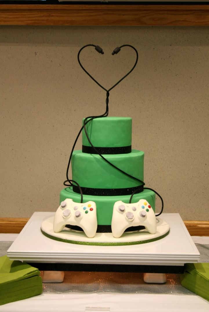 Nerrrd wedding cake!