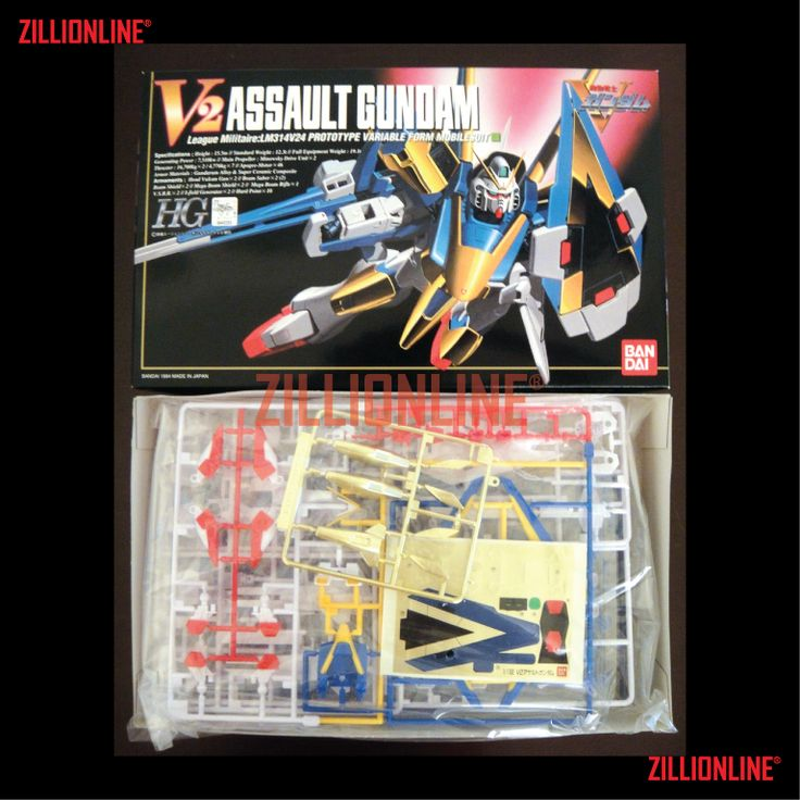 [MODEL-KIT] HG 1/100 - LM314V21 VICTORY TWO ASSAULT GUNDAM. Item Size/Weight : 31 x 19.1 x 7.7 cm / 388g* (*ITEM SIZE & WEIGHT BEFORE PACKAGED). Condition: MINT / NEW & SEALED RUNNER. Made by BANDAI.