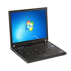Lenovo T61 refurbished laptop PC C2D 2.0/2GB/80GB/DVD-CDRW/15.4/W7HP