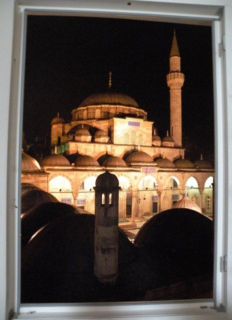 Epic view from our bedroom window - Istanbul, Turkey