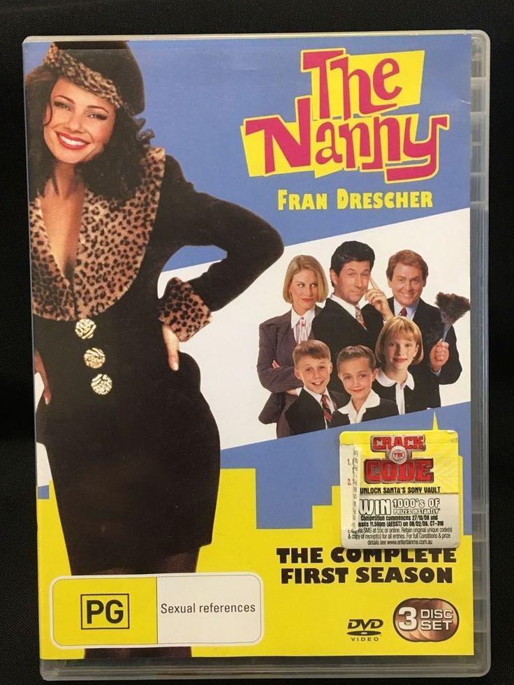 The Nanny Season 1 - 3 DVD Disc Set